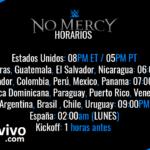 Horarios y Cartelera WWE No Mercy 2016