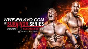 Ver WWE Survivor Series 2016 En Vivo En Español