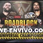 Ver Repeticion De WWE Roadblock 2016 En Español