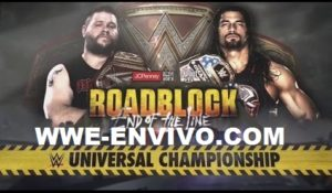Ver Repeticion WWE Roadblock 2016 En Español
