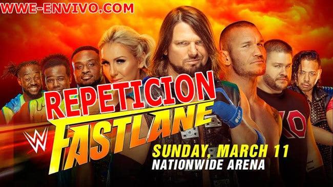 Ver Repeticion WWE Fastlane 2018 En Español