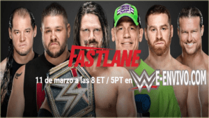 Ver WWE Fastlane 2018 En Vivo En Español