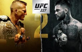 HORARIOS Y CARTELERA UFC 227 DILLASHAW VS GARBRANDT 2